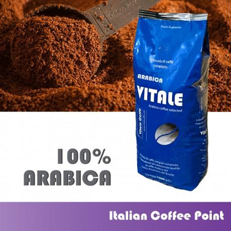 Gemahlenen Kaffee 1 kg. Arabica
