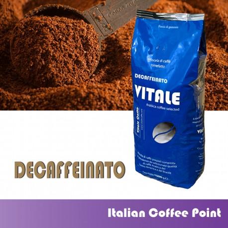Gemahlenen Kaffee 1 kg. Entkoffeiniert