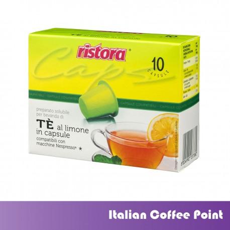 Nespresso kompatibel Zitronen Tee