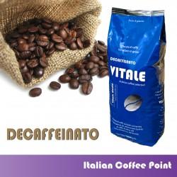 Grains de café 1 kg. Décaféiné