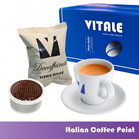 100 Coffee capsules Decaffeinated