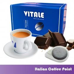 Café vainas, sabor a chocolate