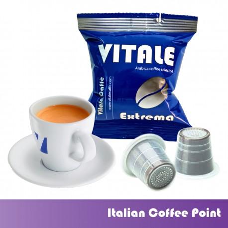 100 Vitale Extrema unterstützte Nespresso